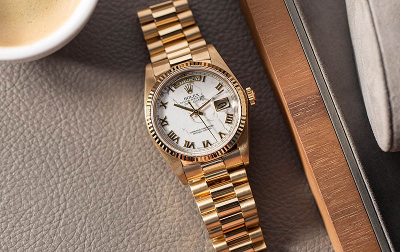 Rolex Day-Date 18038_Womans Watch