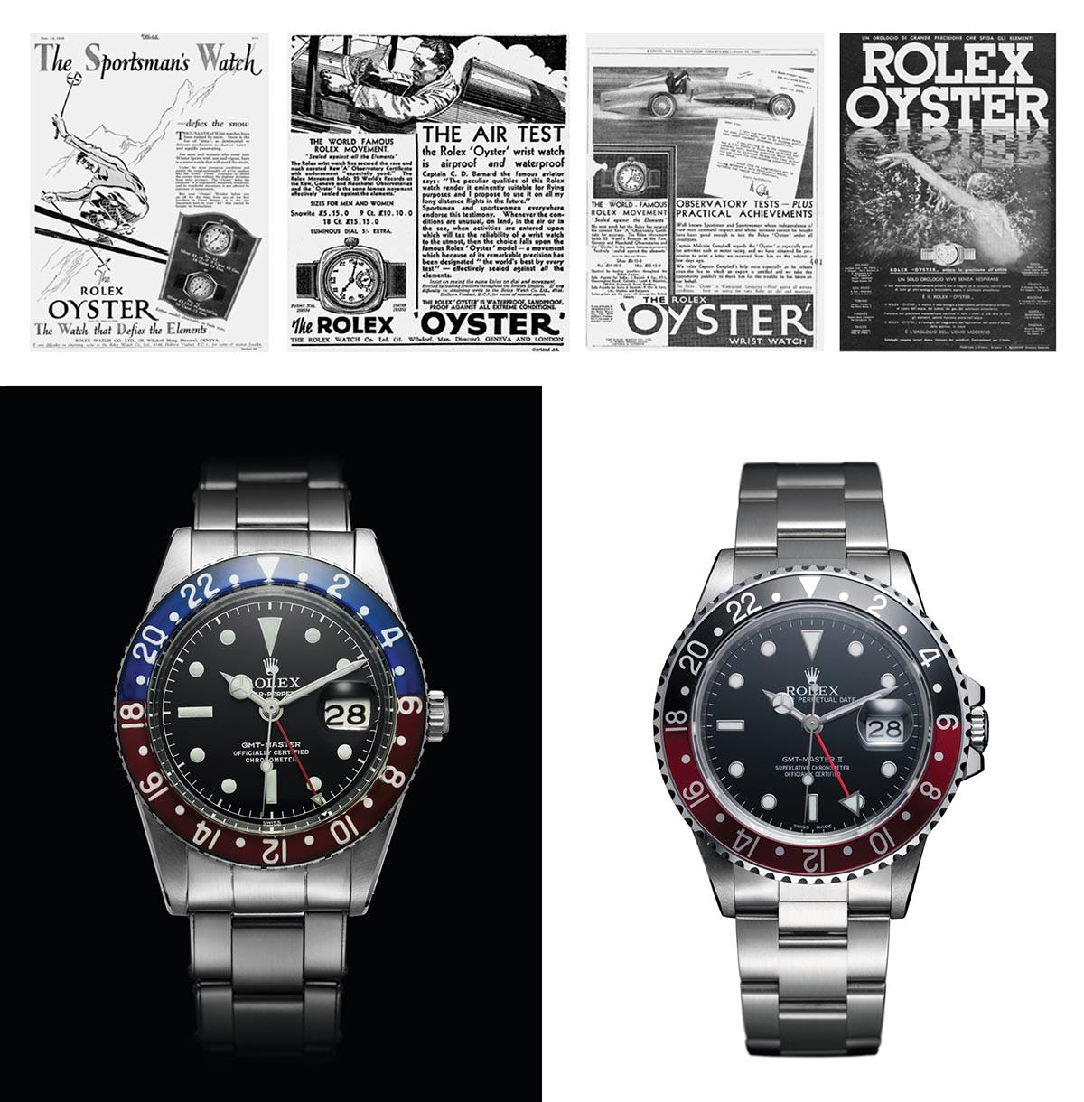 Rolex Oyster Perpetual GMT-Master ads