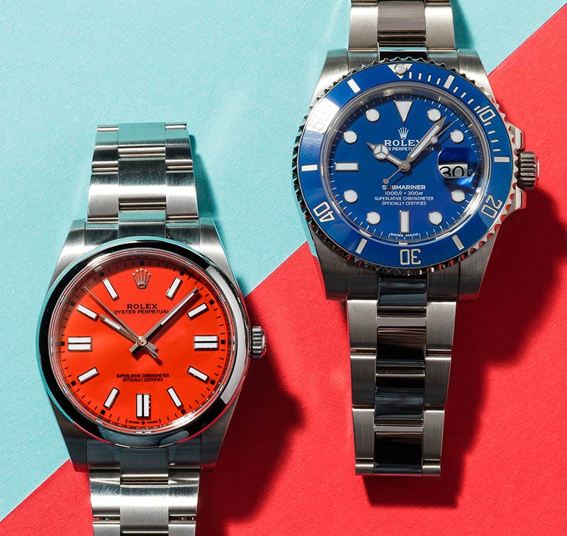 Rolex Submariner_116619_Rolex Oyster Perpetual_124300