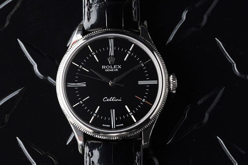 Rolex Cellini Black dial