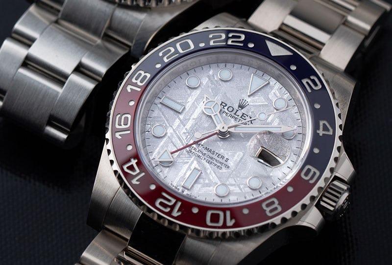 Rolex_GMT Master II_meteorite dial