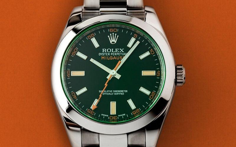Rolex_Milgauss 116400GV Black Dial