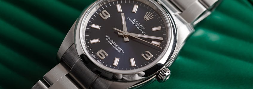 A Complete Guide to the Rolex Oyster Perpetual
